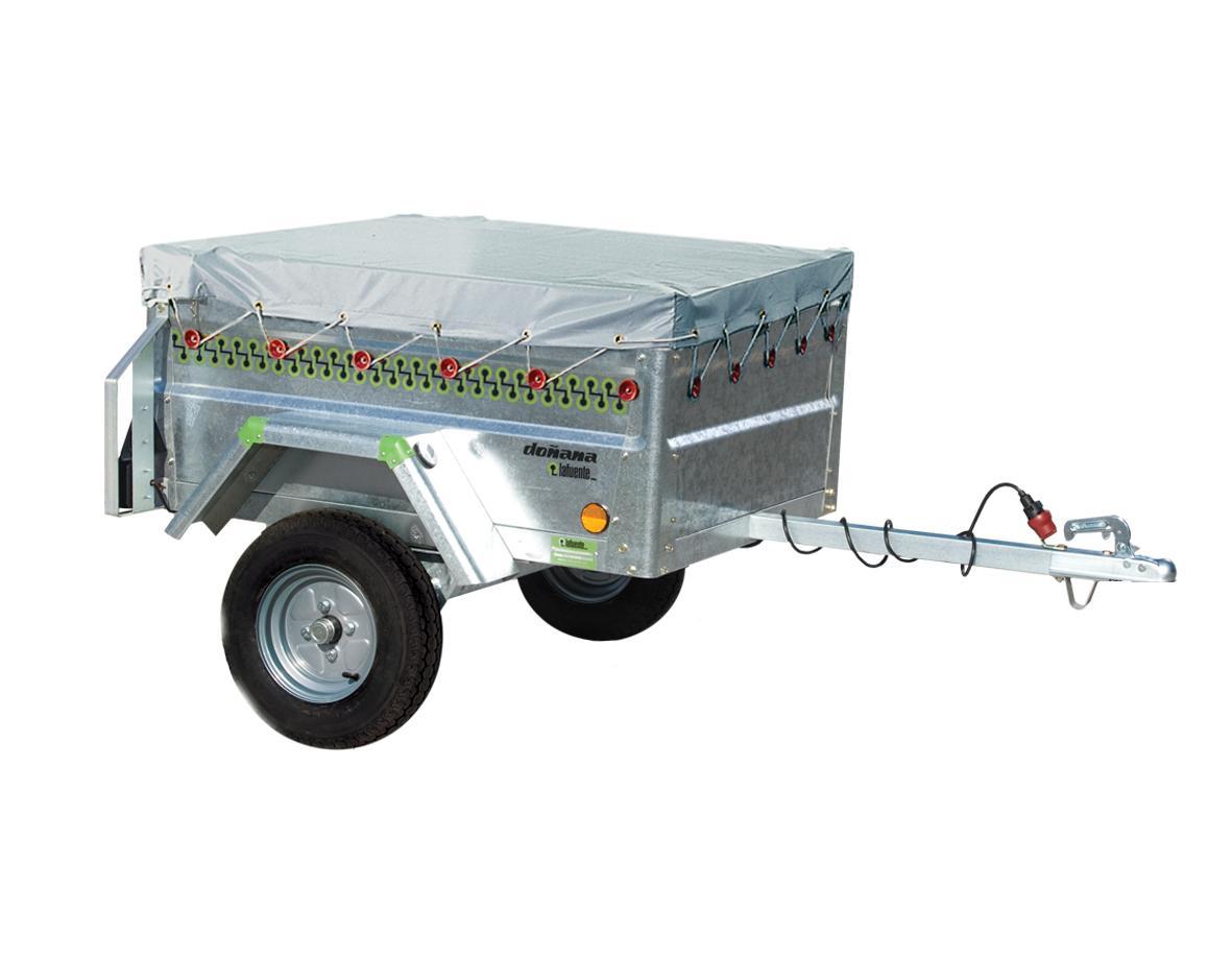 Remolque carga galvanizado serie ecoline 1100 ra0001 for Enganches para toldos