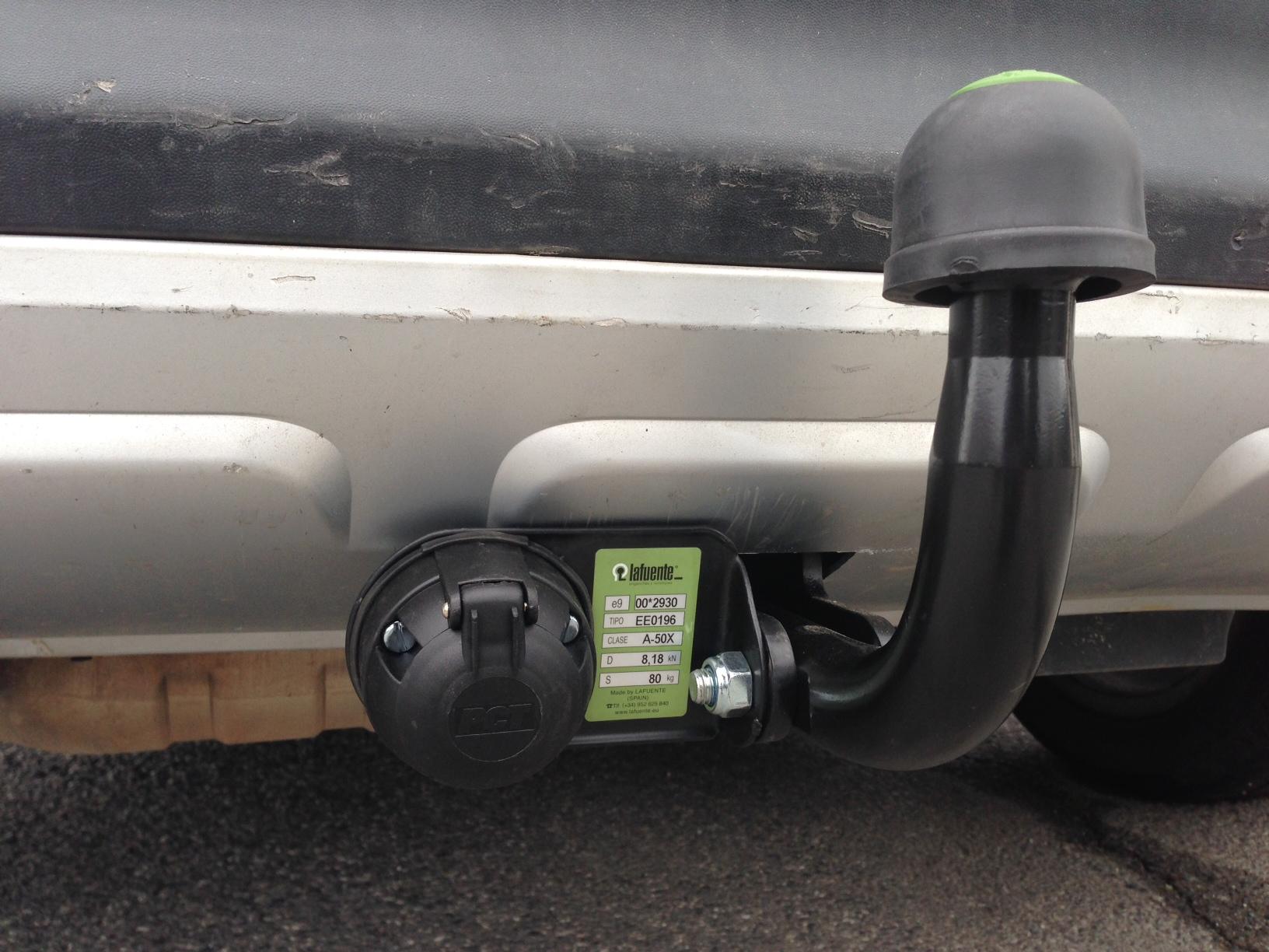 Starre Anhängerkupplung für SKODA Yeti SUV - Lafuente ®