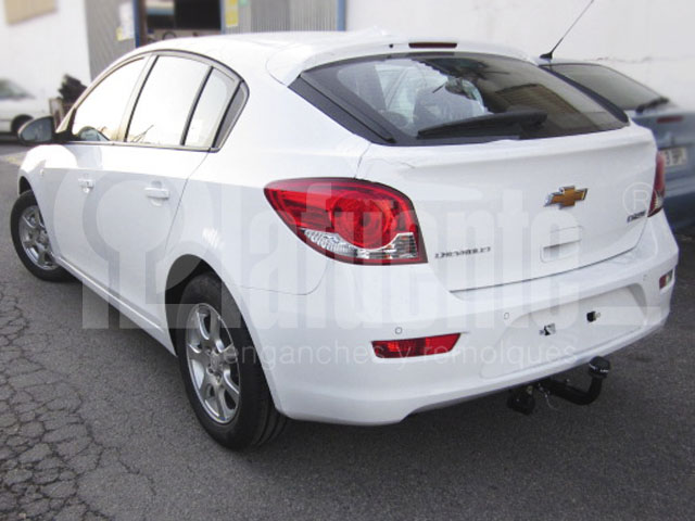 Chevrolet Orlando ab 2011 Anhängerkupplung abnehmbar