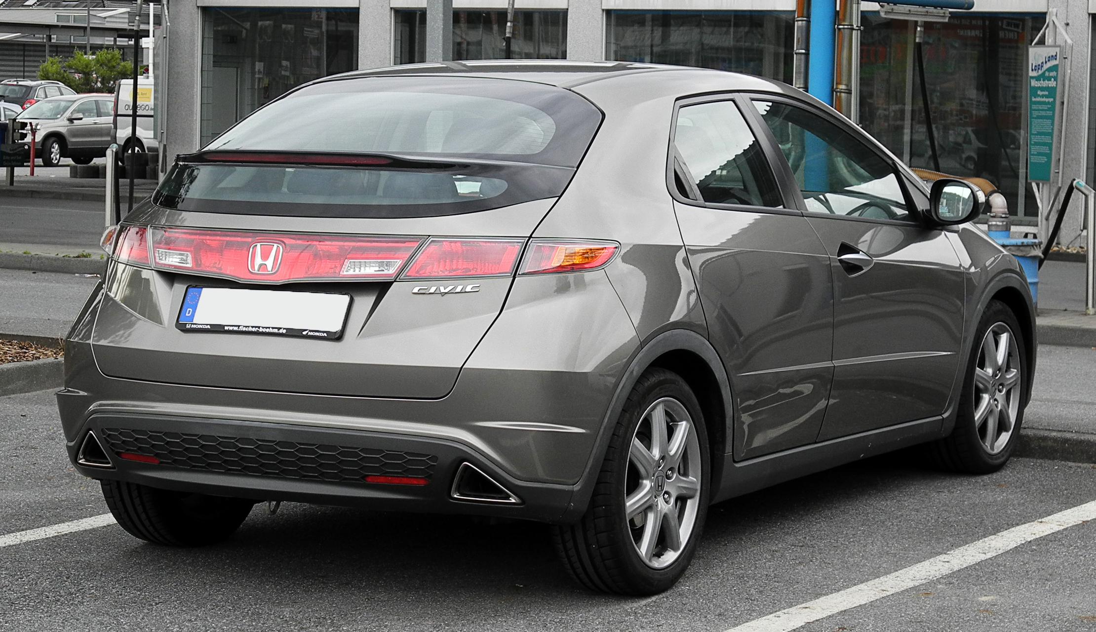 Brink Gancho De Remolque Para Honda Civic 5 puertas escotilla sólo 2005-2012 Desmontable Barra de remolque