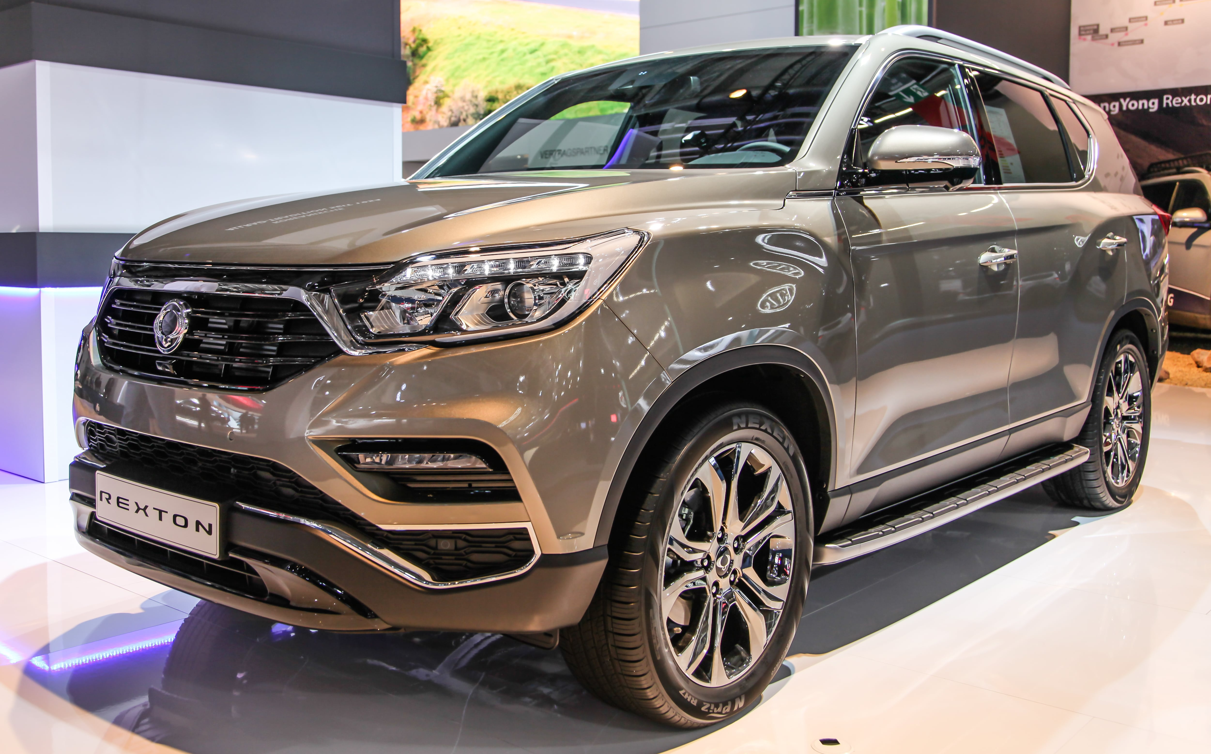 enganches  ssangyong